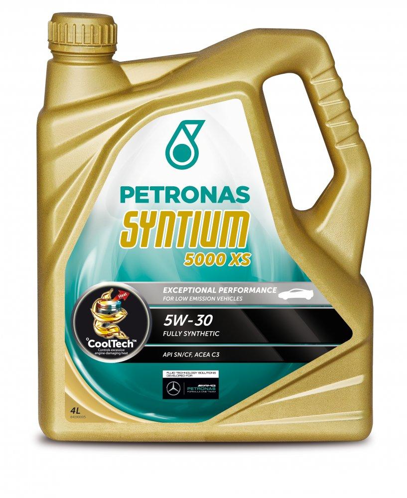 Motorový olej Syntium 5000 XS 5W-30 v balení 4L
