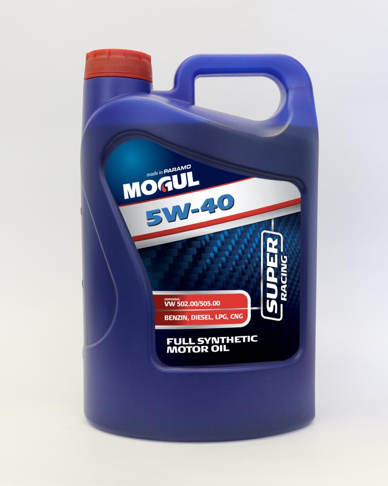 Motorový olej MOGUL RACING 5W-40 balení - 4L